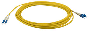 INFRALAN® Flat Twin Jumper LC-LC 9/125µ, OS2